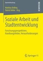 Soziale Arbeit, Gemeinwesenarbeit und Stadtentwicklung
