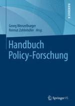 Konzepte und Begriffe in der Vergleichenden Policy-Forschung