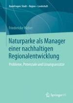 Einleitung: Naturparke als Regionalmanager einer nachhaltigen Regionalentwicklung – erfolgreiches Betätigungsfeld, Wunschziel oder Illusion?