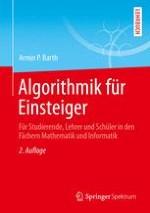 Was ist ein Algorithmus? – Eine erste Antwort