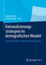 Herausforderungen des demografischen Wandels für fertigende Betriebe und deren Beschäftigte