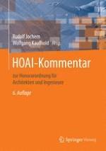 Wortlaut: Verordnung über die Honorare für Architekten- und Ingenieurleistungen (Honorarordnung für Architekten und Ingenieure – HOAI) Vom 10. Juli 2013