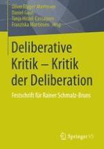 Deliberative Kritik – Kritik der Deliberation. Einleitung in die Festschrift
