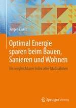 Geld sparen mit strukturierter Energieberatung