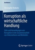 Einleitung: Korruption als wirtschaftliche Handlung