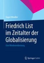 Anekdoten aus dem Leben von Friedrich List