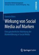 A Die Wirkung von Social Media auf Marken als Untersuchungsgegenstand