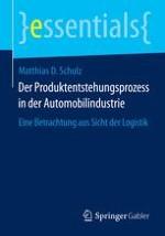 Bedeutung des Produktentstehungsprozesses für die Logistik