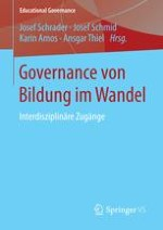 Governance im Bildungsbereich – Erträge, Desiderate und Potenziale der Forschung
