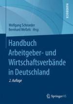 Die deutsche Unternehmerverbändelandschaft: vom Zeitalter der Verbände zum Zeitalter der Mitglieder