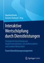 Interaktive Wertschöpfung durch Dienstleistungen – Eine Einführung in die theoretischen und praktischen Problemstellungen