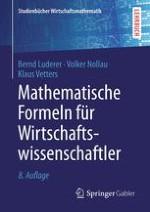 Mathematische Symbole und Konstanten