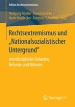 Ein systematisierender Überblick über Entwicklungslinien der Rechtsextremismusforschung von 1990 bis 2013