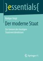 Was ist der moderne Staat?
