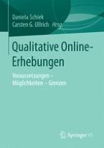 Qualitative Online-Erhebungen: Möglichkeiten, Herausforderungen und Grenzen