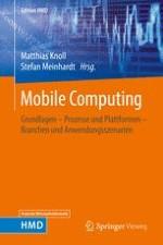 Einsatz mobiler Anwendungen im Unternehmen