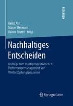 Nachhaltiges Entscheiden als multiperspektivisches Forschungsfeld – Überblick über die Forschung von Harald Dyckhoff und die Beiträge dieser Festschrift