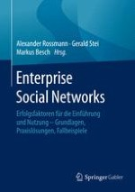 Enterprise Social Networks – Einführung in die Thematik und Ableitung relevanter Forschungsfelder