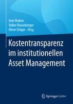Management- und PerformancegebührenPerformancegebühren im Fondsmanagement von Versorgungseinrichtungen