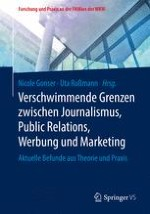 Verschwimmende Grenzen – Abgrenzung zwischen Journalismus, Public Relations, Werbung und Marketing