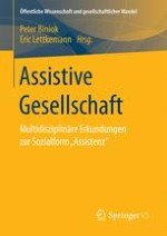 In Gesellschaft – Assistenzformen, Assistenzweisen und Assistenzensembles