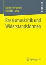 Rassismuskritik und Widerstandsformen – Eine Einleitung