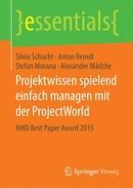 Herausforderungen des Wissensmanagements in Projekten