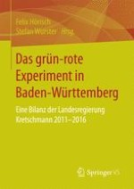 """Einleitung """"Das grün-rote Experiment: Politikwechsel nach 57 Jahren CDU-Regierung?"""""""