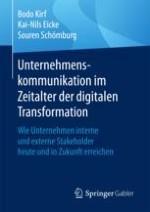 Unternehmenskommunikation in Zeiten digitaler Transformation