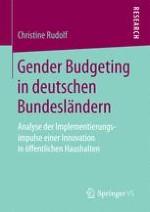 Das neue finanzpolitische Instrument: Gender Budgeting
