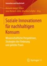 Soziale Innovationen für nachhaltigen Konsum: Wissenschaftliche Perspektiven, Strategien der Förderung und gelebte Praxis