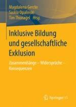 Einleitung: Aktuelle Diskurslinien und zentrale Denkfiguren zu Inklusion und Exklusion in Bildung und Gesellschaft