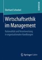 Struktur und Grundprobleme einer Ethik organisationalen Handelns