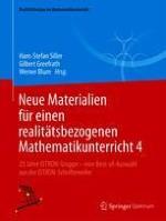 Zum Lehren und Lernen des mathematischen Modellierens – eine Einführung in theoretische Ansätze und empirische Erkenntnisse