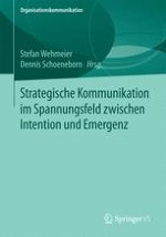 Strategie und strategische Kommunikation: Definitionen und Perspektiven – eine Einleitung