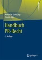 Kapitel: Rechtliche Grundlagen für PR-Macher – von Gesetzen und anderen Regelungen