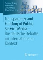 Transparency and Funding of Public Service Media in Germany, the Western World and Beyond