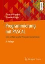 Allgemeine Eigenschaften von Algorithmen und Programmen