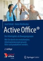 Die Arbeit in einem konventionellen Büro
