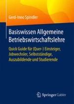 Modell und Methoden der Betriebswirtschaftslehre