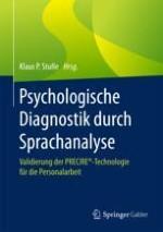 Einführung in die psychologische Sprachanalyse