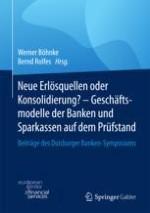 Die Perspektiven deutscher Kreditinstitute unter dem Druck von Niedrigzinsen, Regulierung und Digitalisierung