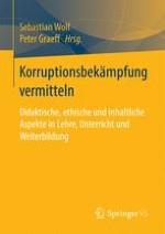 Kompetenz- und Wissensvermittlung als Antikorruption 3.0