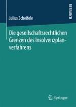Der Konflikt zwischen Insolvenz- und Gesellschaftsrecht