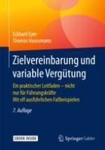 Zielsystem und Zielvereinbarung als Instrument der Unternehmenssteuerung