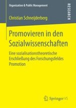 kumulative dissertation monographie