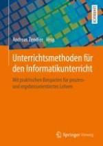 Unterrichtsmethoden für den Informatikunterricht: Überblick