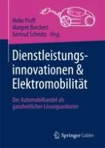 Dienstleistungsinnovationen und Elektromobilität