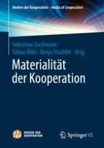 Materialität der Kooperation zur Einleitung