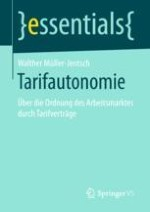 Tarifautonomie – Grundrecht der Arbeitnehmer